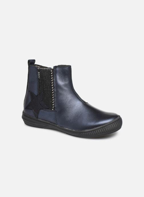 Bottines et boots Bopy Samana Bleu vue détail/paire