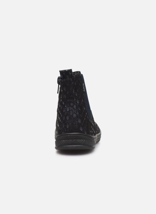 Bottines et boots Bopy Sagola Bleu vue droite