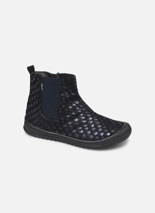 Boots en enkellaarsjes Bopy Sagola Blauw detail