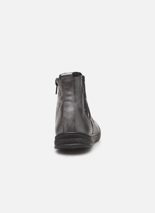 Bottines et boots Bopy Semoi Argent vue droite
