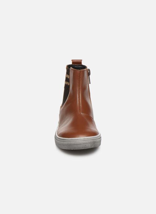 Bottines et boots Bopy Seliane Marron vue portées chaussures