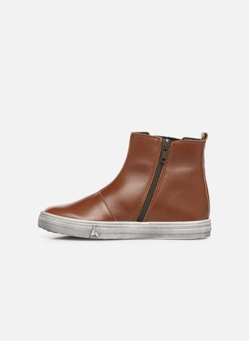 Boots en enkellaarsjes Bopy Seliane Bruin voorkant