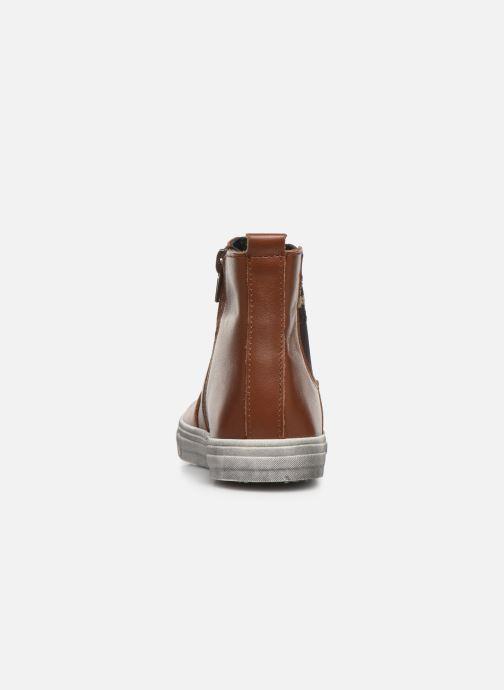 Bottines et boots Bopy Seliane Marron vue droite