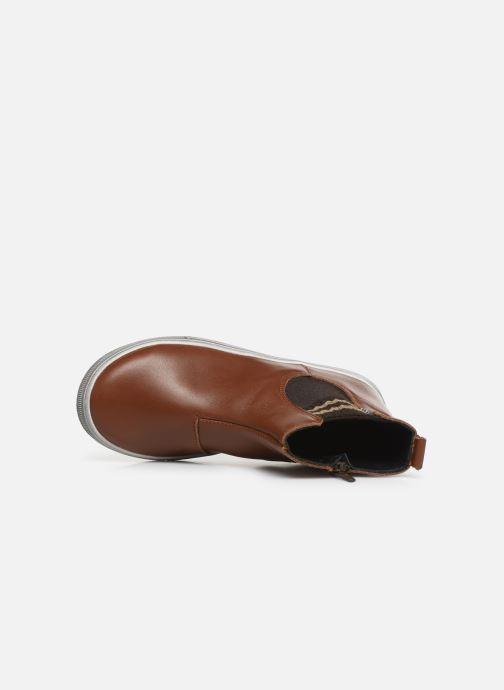 Bottines et boots Bopy Seliane Marron vue gauche