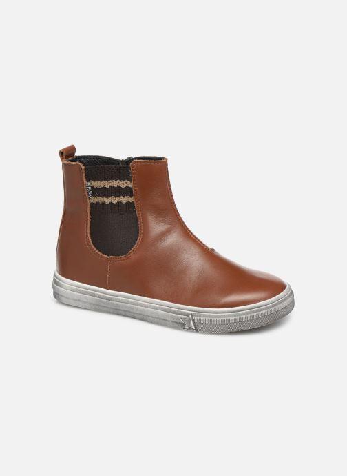 Bottines et boots Bopy Seliane Marron vue détail/paire