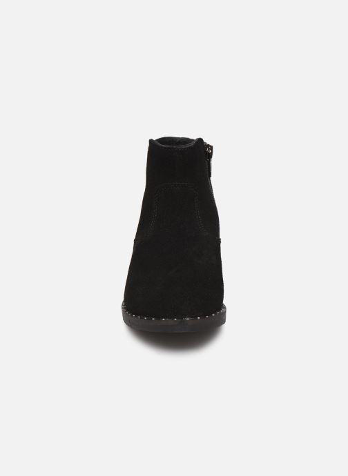 Stivaletti e tronchetti Bopy Hotrame Lilybellule Nero modello indossato