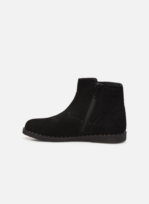 Ankle boots Bopy Hotrame Lilybellule Black front view
