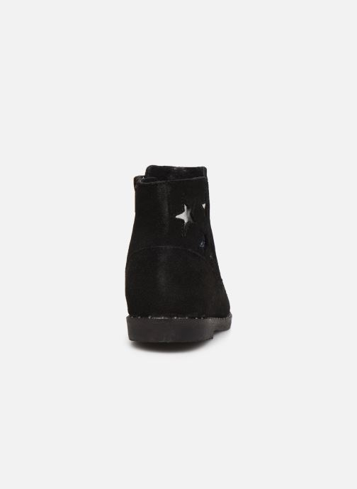 Ankle boots Bopy Hotrame Lilybellule Black view from the right