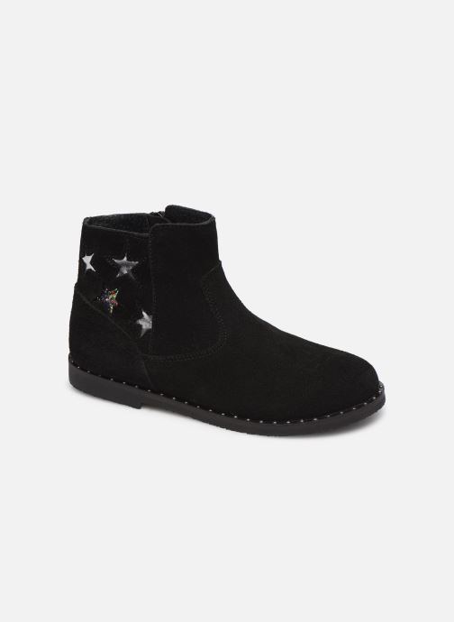 Ankle boots Bopy Hotrame Lilybellule Black detailed view/ Pair view