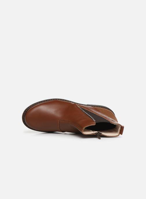 Bottines et boots Bopy Sadoli Marron vue gauche