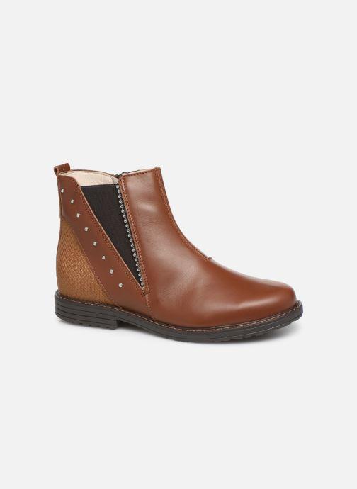 Bottines et boots Bopy Sadoli Marron vue détail/paire