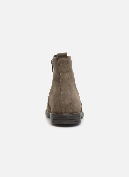 Bottines et boots Bopy Sisel Vert vue droite