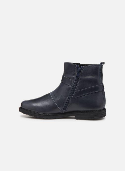 Bottines et boots Bopy Sitaly Bleu vue face