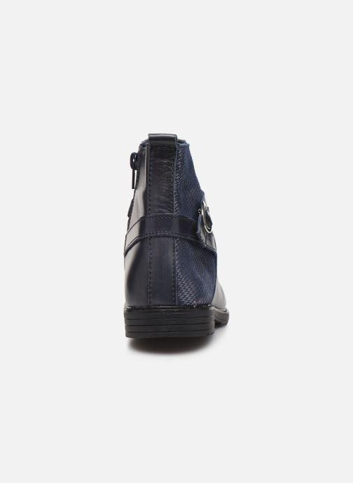 Bottines et boots Bopy Sitaly Bleu vue droite