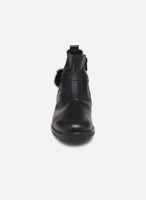 Bottines et boots Bopy Sianala Noir vue portées chaussures