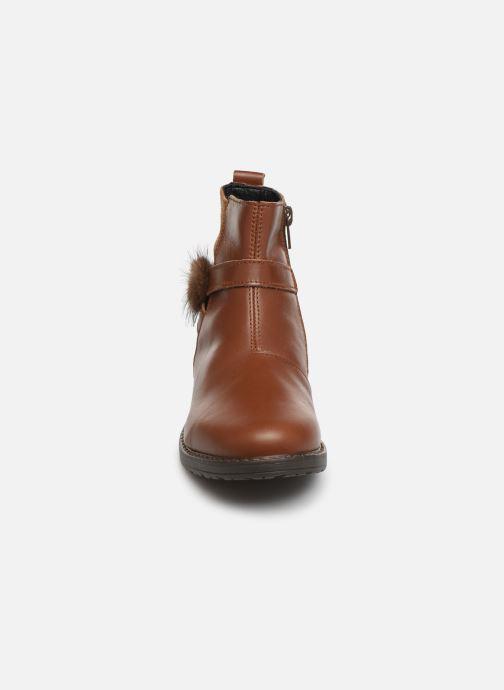 Bottines et boots Bopy Sianala Marron vue portées chaussures