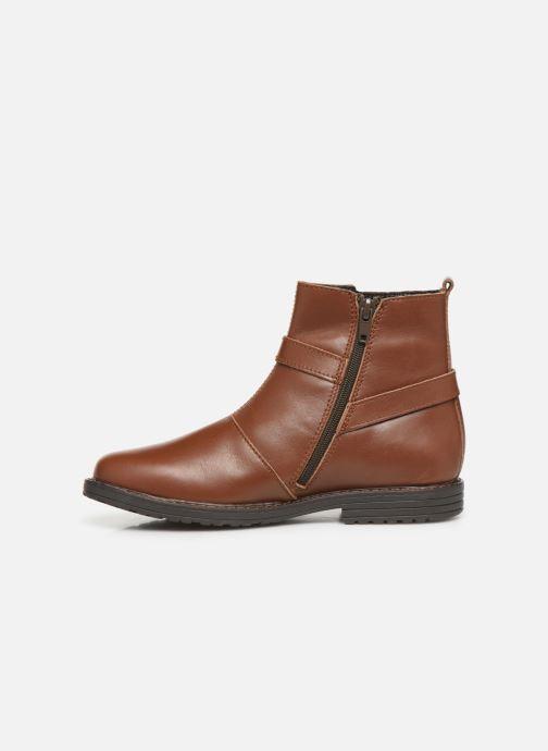 Bottines et boots Bopy Sianala Marron vue face