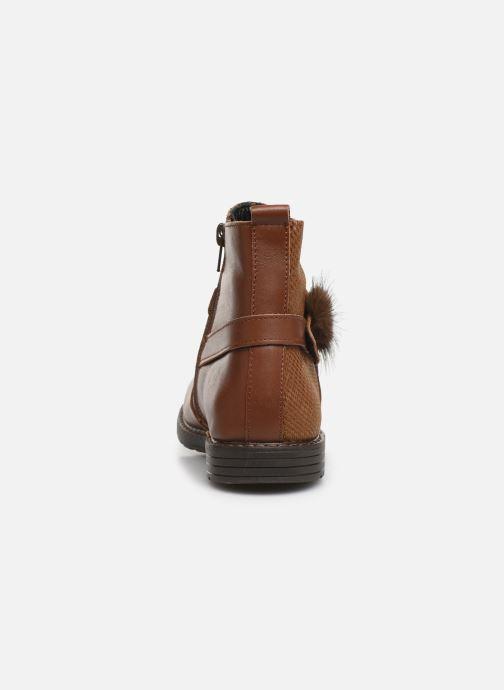 Bottines et boots Bopy Sianala Marron vue droite