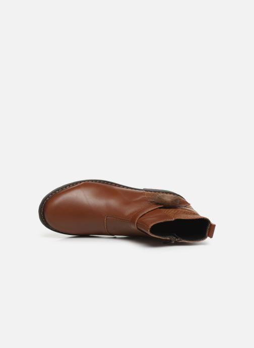 Bottines et boots Bopy Sianala Marron vue gauche