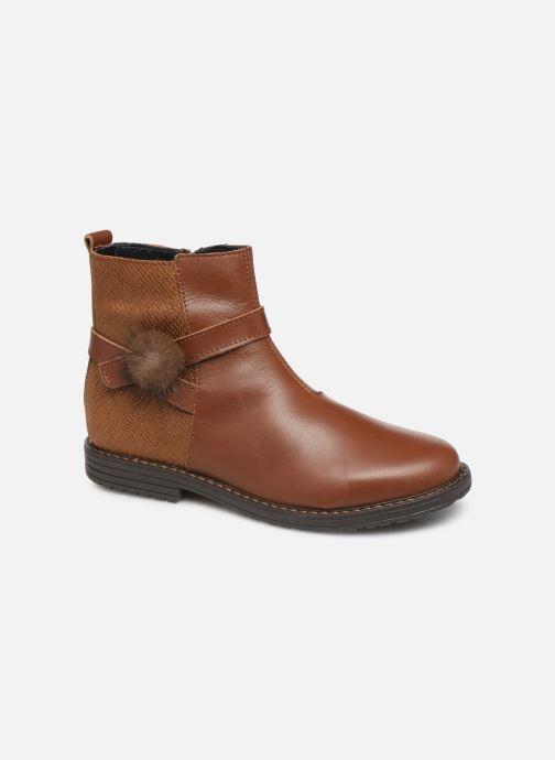 Bottines et boots Bopy Sianala Marron vue détail/paire