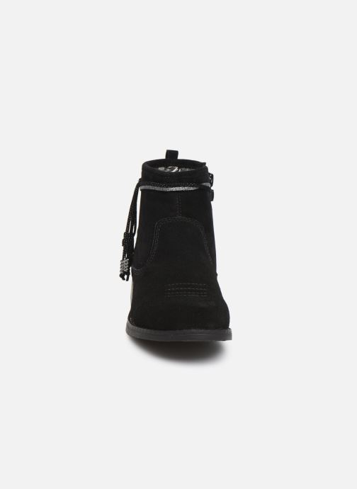 Bottines et boots Bopy Leanora Noir vue portées chaussures
