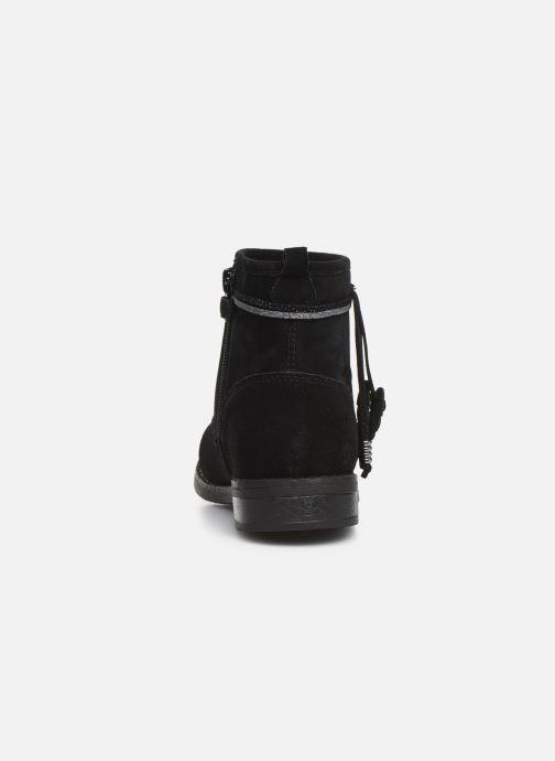 Bottines et boots Bopy Leanora Noir vue droite