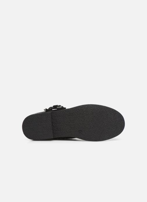 Bottines et boots Bopy Leanora Noir vue haut