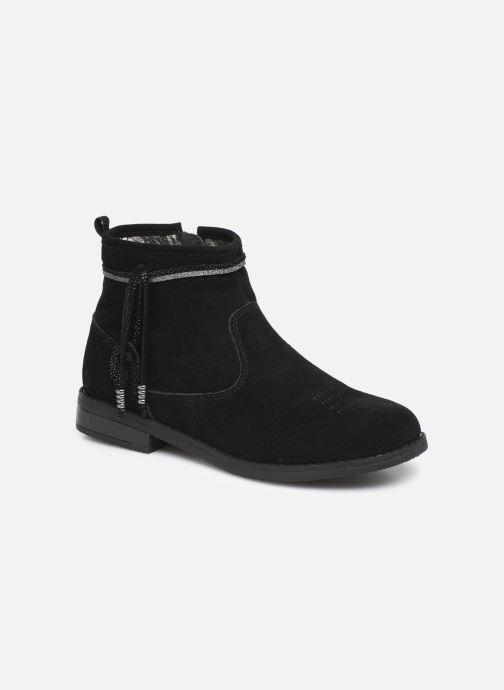 Ankelstøvler Bopy Leanora Sort detaljeret billede af skoene