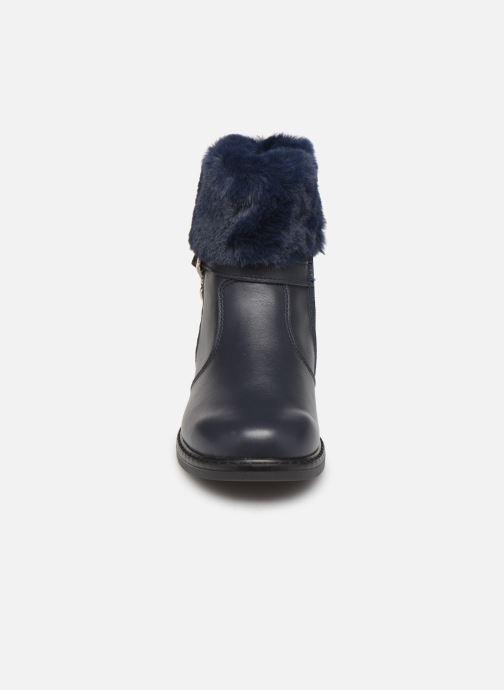 Bottes Bopy Simoute Bleu vue portées chaussures