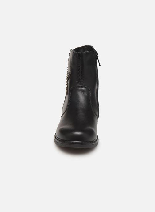 Bottes Bopy Sijolie Noir vue portées chaussures