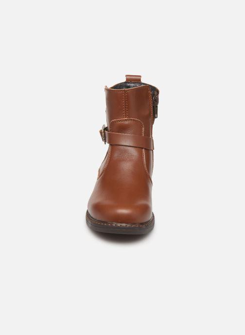 Bottes Bopy Sodile Marron vue portées chaussures