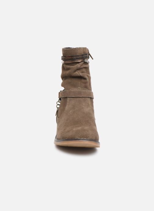 Bottines et boots Bopy Nochaliac Lilybellule Marron vue portées chaussures