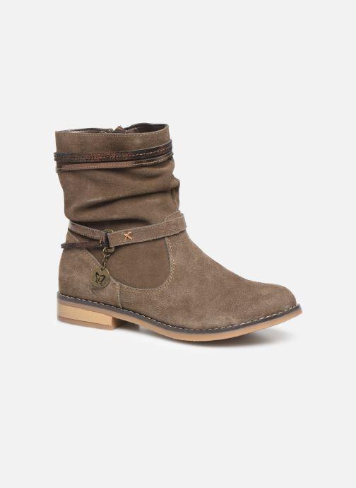 Ankle boots Bopy Nochaliac Lilybellule Brown detailed view/ Pair view