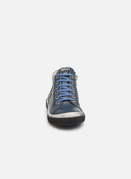 Baskets Bopy Varto Bleu vue portées chaussures