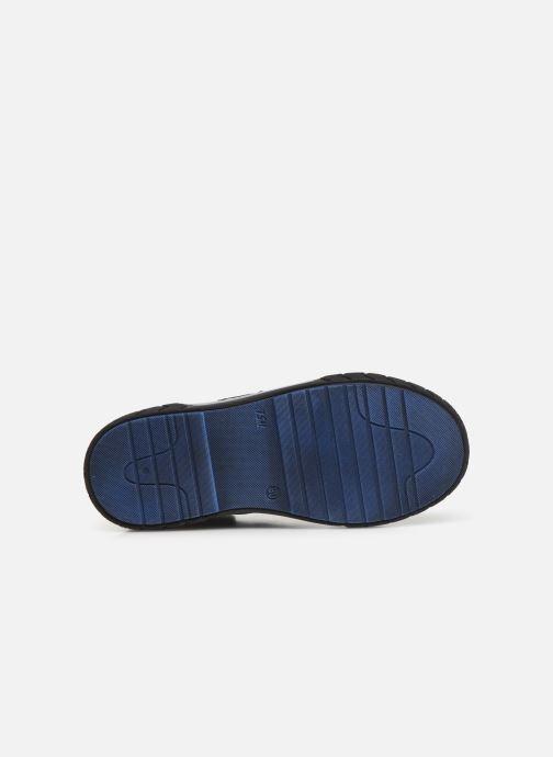 Baskets Bopy Varto Bleu vue haut