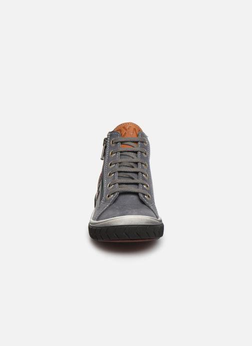 Baskets Bopy Vanta Gris vue portées chaussures