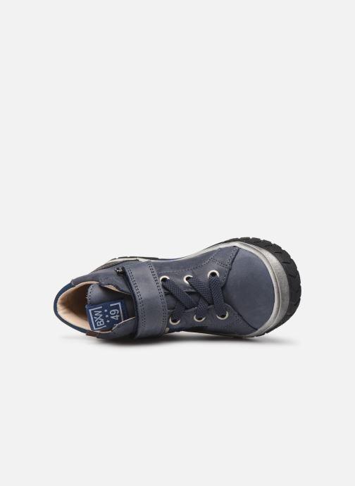 Sneakers Bopy Vitou Azzurro immagine sinistra