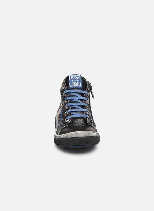 Baskets Bopy Venito Noir vue portées chaussures