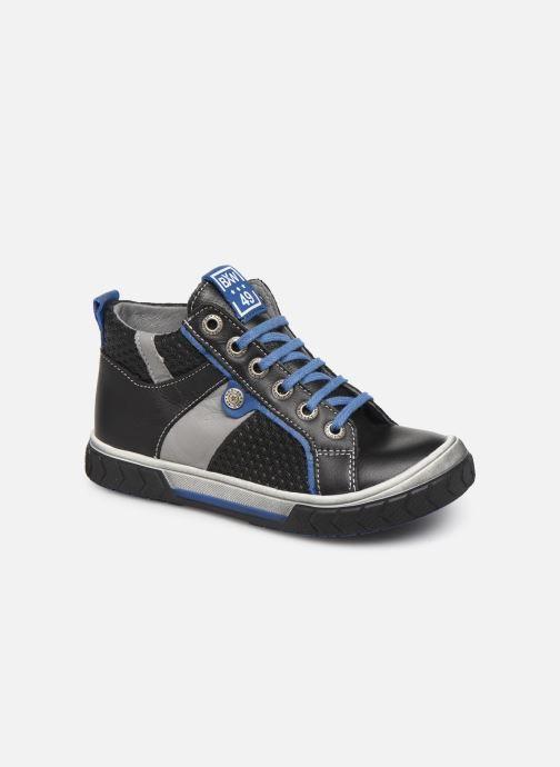 Sneakers Bopy Venito Zwart detail