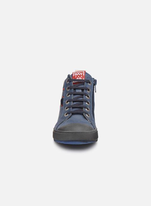 Baskets Bopy Vibol Bleu vue portées chaussures