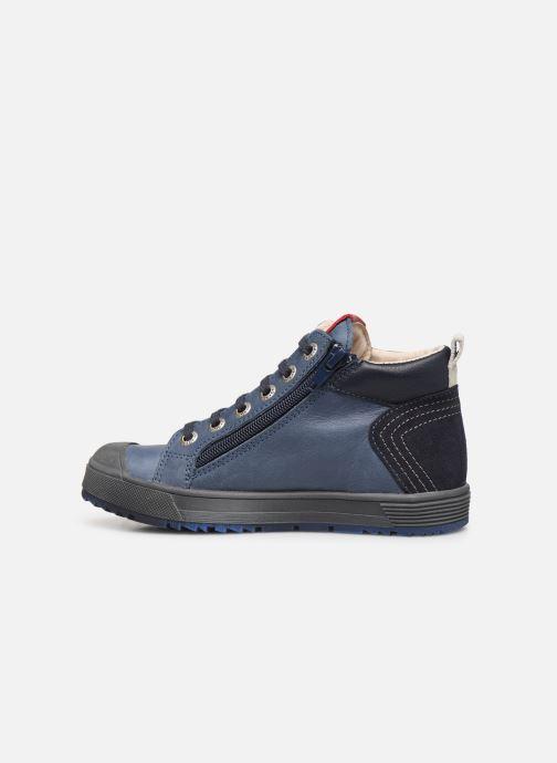 Sneakers Bopy Vibol Blauw voorkant