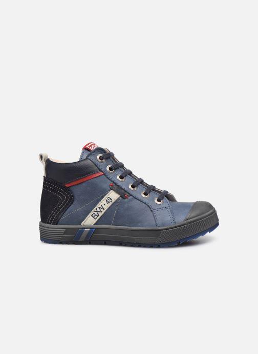 Sneakers Bopy Vibol Blauw achterkant