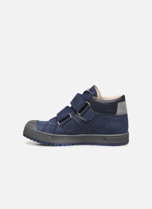 Sneaker Bopy Vinyl blau ansicht von vorne