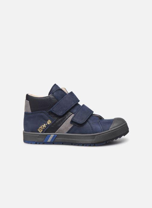 Sneaker Bopy Vinyl blau ansicht von hinten