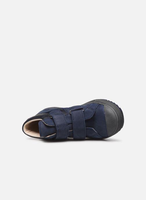 Sneaker Bopy Vinyl blau ansicht von links