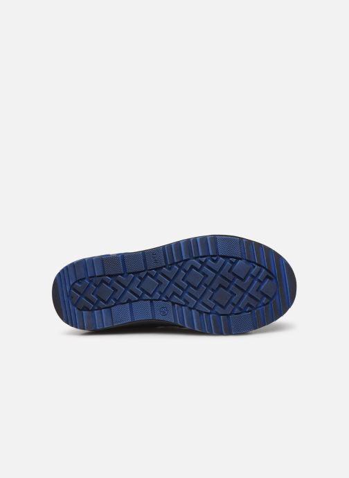 Baskets Bopy Vinyl Bleu vue haut