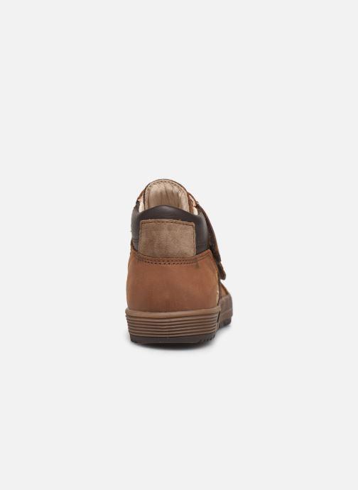 Sneakers Bopy Vinyl Bruin rechts