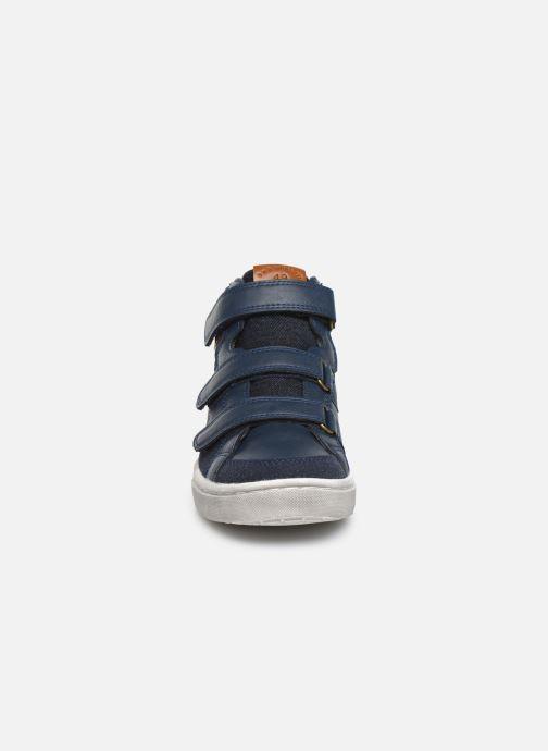 Baskets Bopy Tafila Sk8 Bleu vue portées chaussures