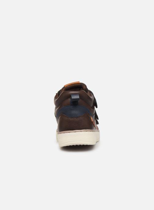 Sneakers Bopy Tanori Sk8 Bruin rechts