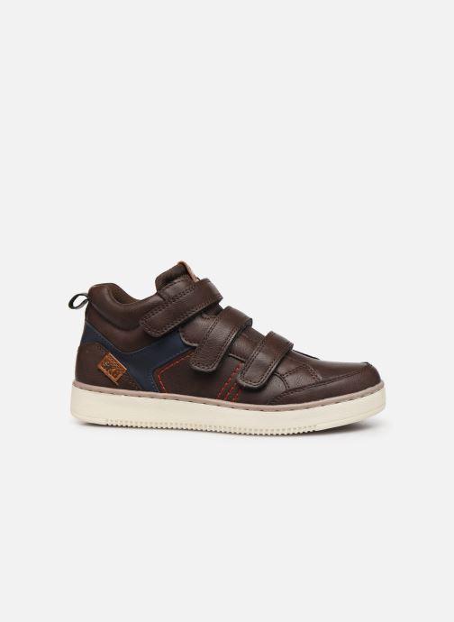 Sneakers Bopy Tanori Sk8 Bruin achterkant